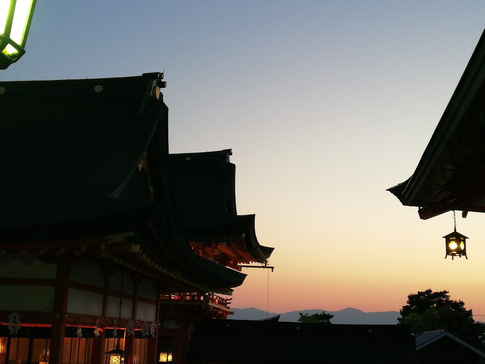 Mon voyage à Kyoto